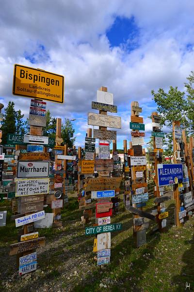 Sign Post Forest<br /> Watson Lake, Yukon Territory