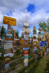 Sign Post Forest Watson Lake, Yukon Territory