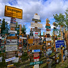 Sign Post Forest<br /> Watson Lake, Yukon Territory