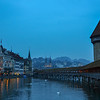Chapel Bridge<br /> Lucerne, Switzerland