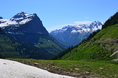 Continental Divide  Glacier National Park, Montana