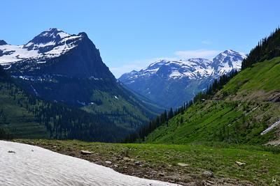 Continental Divide  Glacier National Park, Montana