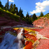 Red Rock Canyon<br /> Waterton Provincial Park, Alberta