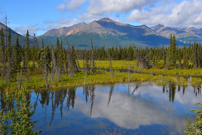 Mentasta Lake South of Tok, Alaska
