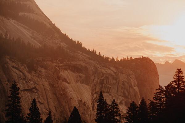 Yosemite National Park at Sunrise