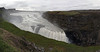 Iceland panorama:  Mighty, mighty Gullfoss, the three phase thunderous waterfall located in the canyon of Hvítá river.  It is unusual in that the final and largest of the three cataracts is at right angles to the ultimate gorge of its outflow, and that each of the three cataracts is at nearly right angles to its two neighboring stretches of the river or the falls. <br /> <br /> Stitched from 4 hand-held portrait format singles shot at 24mm.