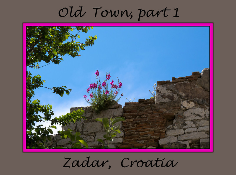MS G23 00<br /> <br /> Zadar, old town, Croatia<br /> May, 2011