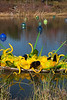 Chihuly:  Yellow Boat and Walla Wallas