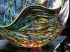 Multi-color macchia bowl by Chihuly