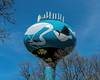 2017-04-29:  Water Tower with a local nature theme, Ann Arbor