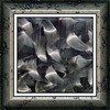 Abstract of brushed stainless steel (framed v.3) (sc 2018-8-8)