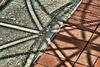 For 2017-09-22:  Patterns: shadows on brick and concrete