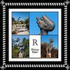 Alphabet Challenge:  R – Rhino Man sculpture