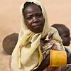 A young woman in Gereida, Sudan