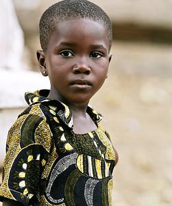 A child from Ghana's Cape Coast