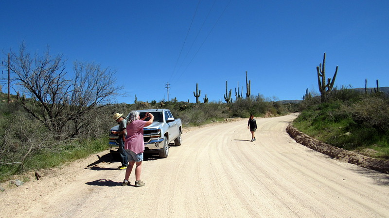 Heading Westbound on the Apache Trail.