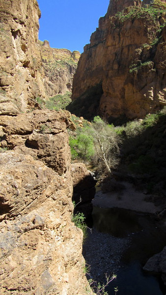 Heading into the canyon where many men have vanished
