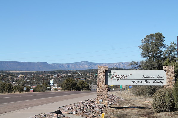 Payson, Arizona Road Trip (and house hunting)