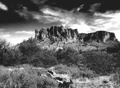 Superstion Mountains. The Search for the Lost Dutchman's Mine, Part 3