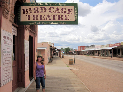 Tombstone, AZ  Bird Cage Theatre