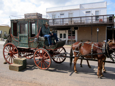 This is an original stage coach from the 1880's
