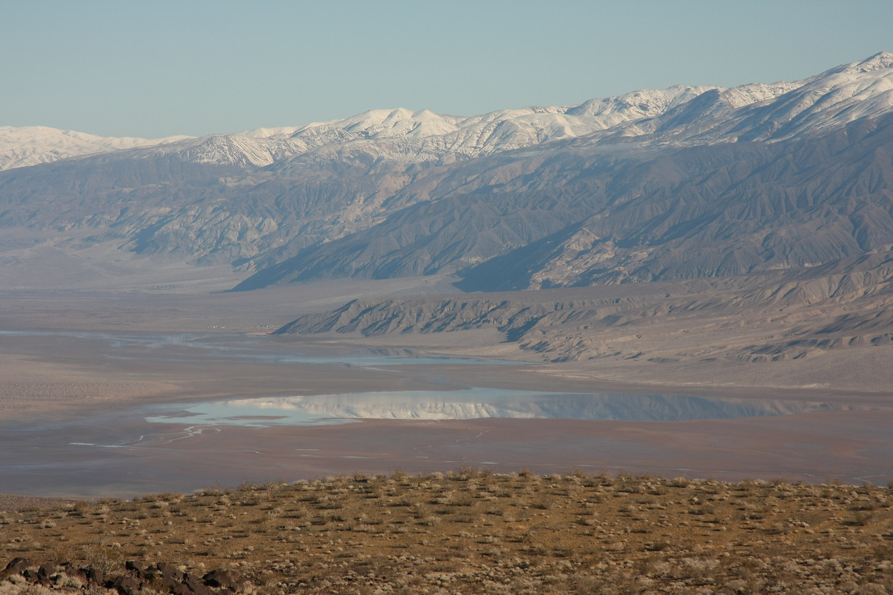 Looking into Panamint Valley from the Escape Trail.