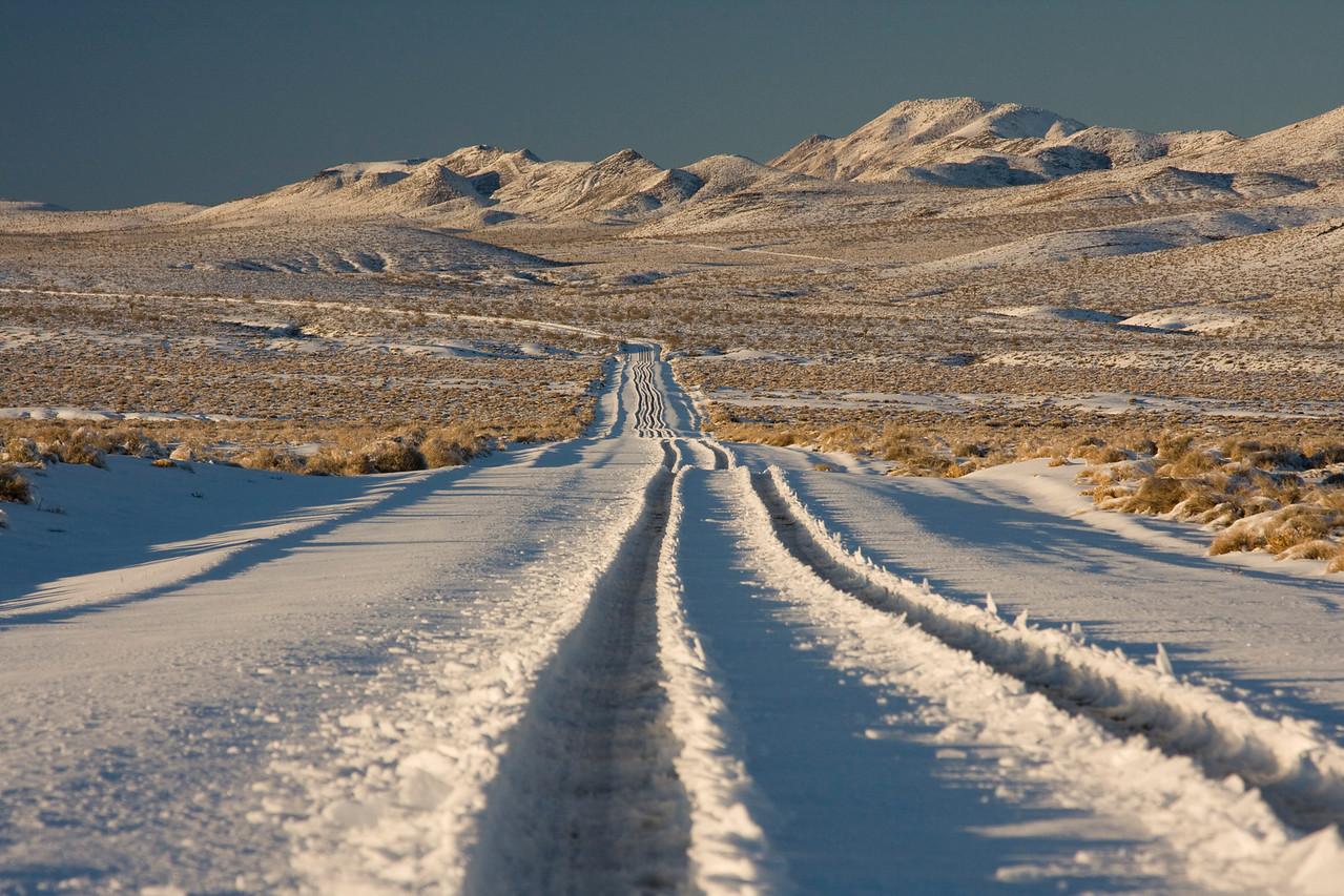 Saline Valley Road.