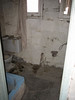 The bathroom where Charles Manson was hiding.