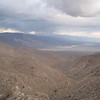 Looking into Panamint Valley from Saline Valley Road.