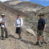 Lewis, Scott and I ready to start the hike in.