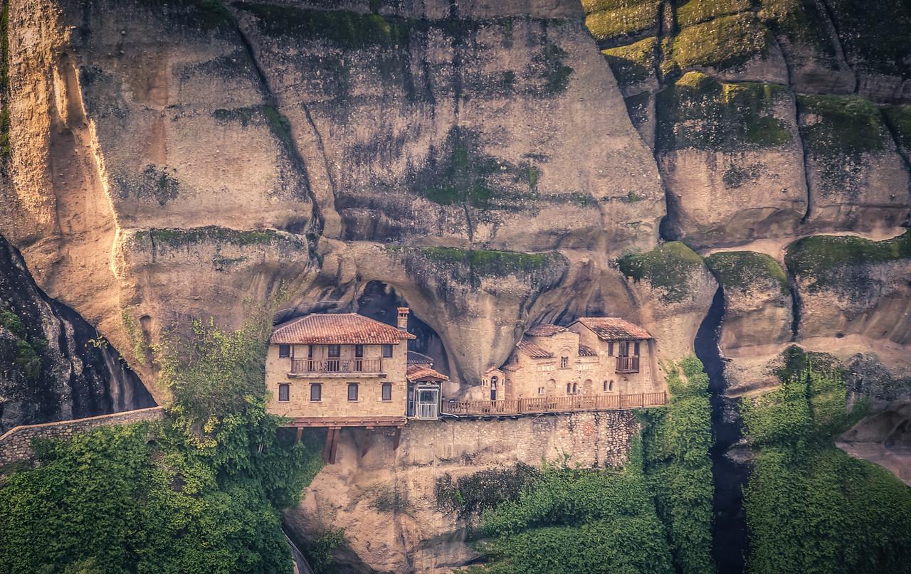Cliffwall Monastery