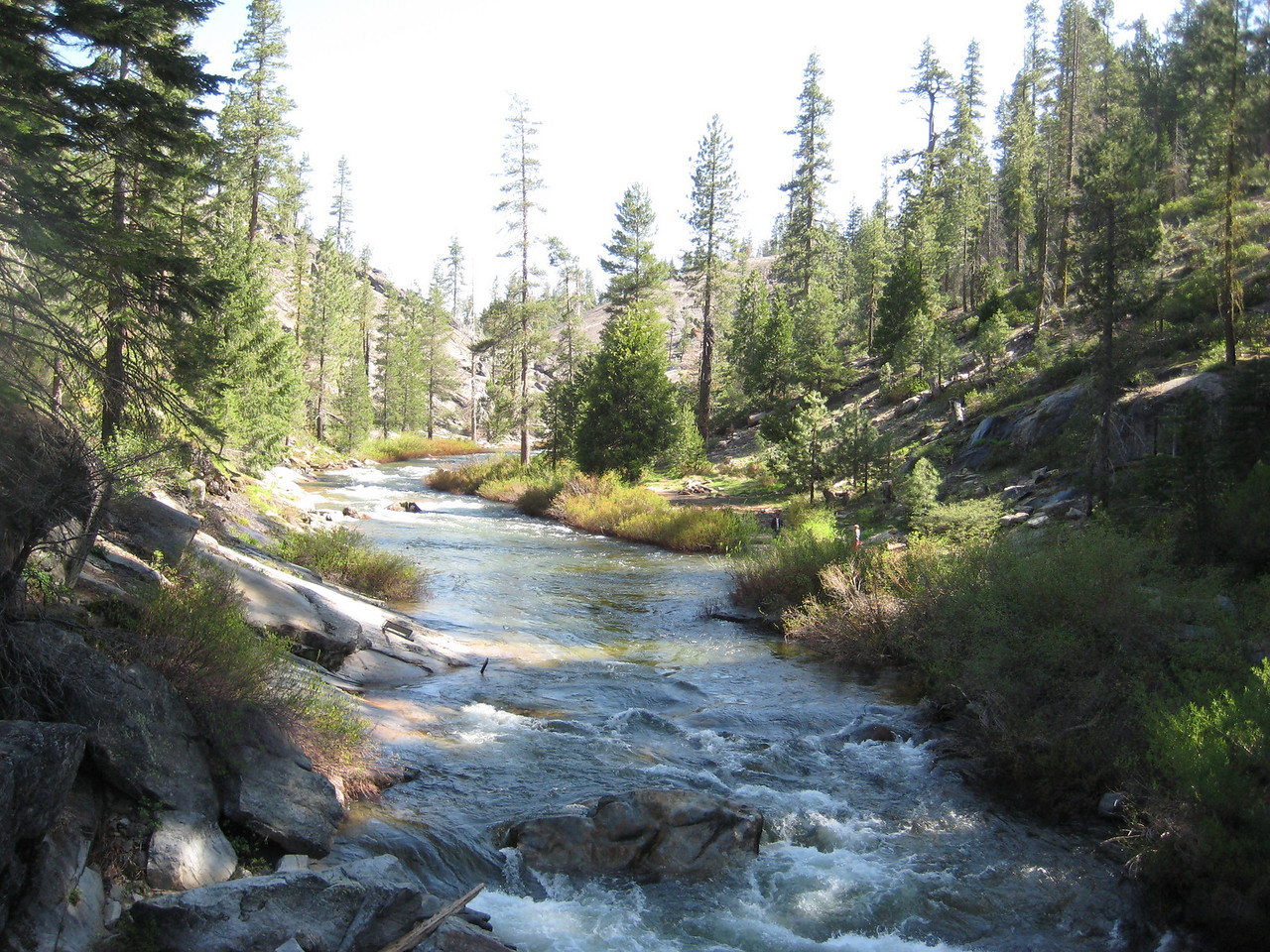 The upper Clavey River.