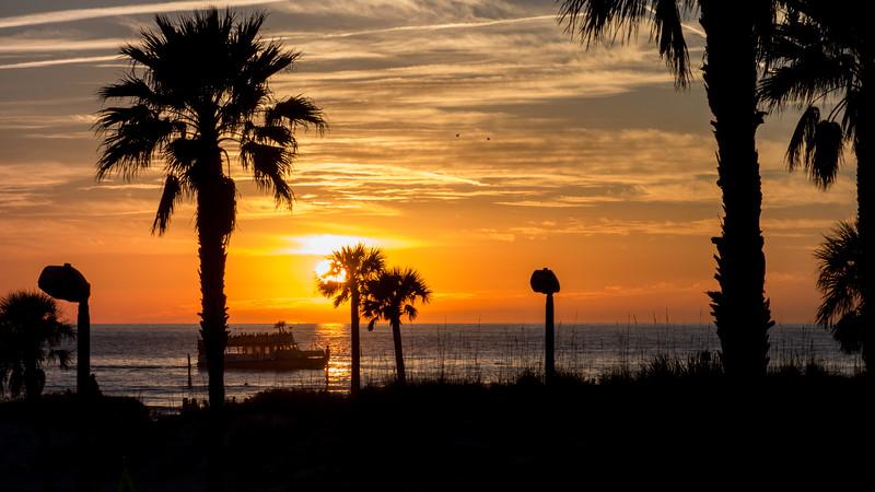 Clearwater Beach, FL    Sunset