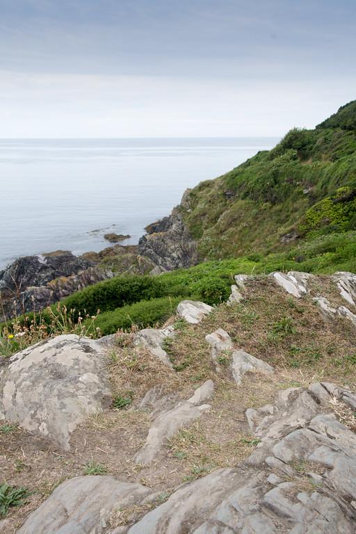 Polperro cliff walk