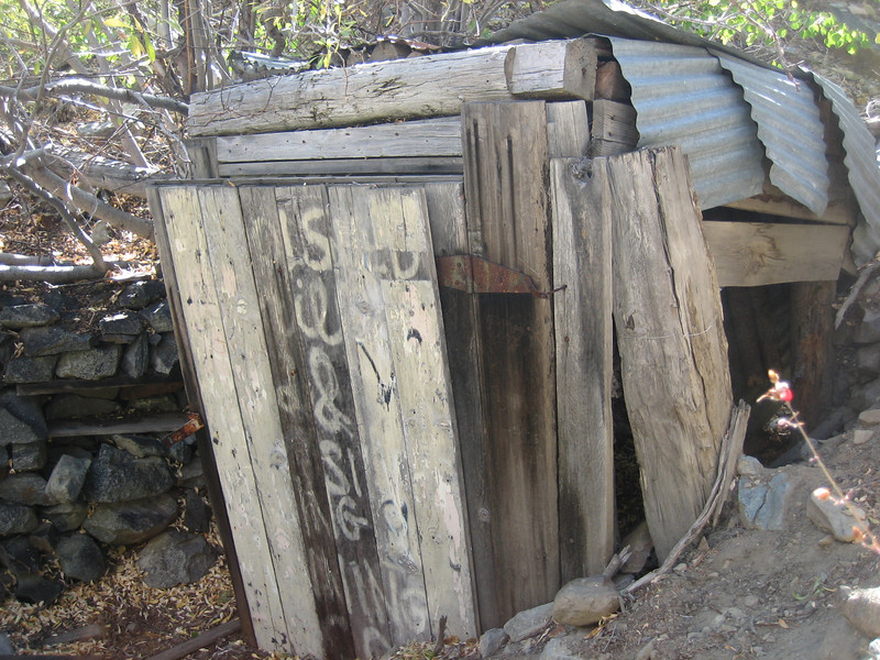 Old storage shed near the river.