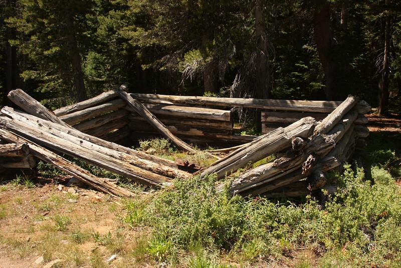 Miner's cabin.