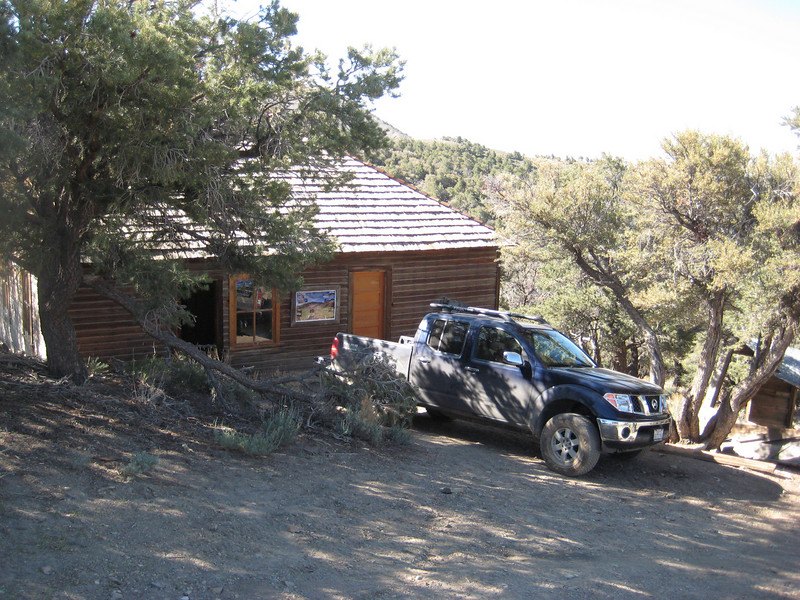 Our Cabin in the woods....errr...desert.