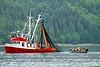 Purse Seiner, Neets Bay, Alaska.  July 2011