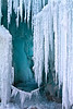 Ice Castles, Silverthorne, Colorado.  March 2012