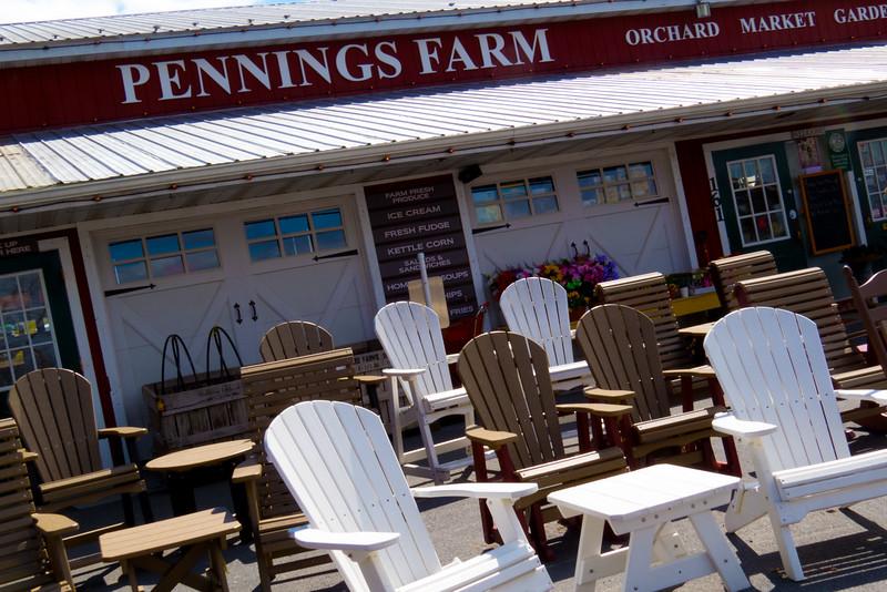 Pennings Farm, New York.  April 2015