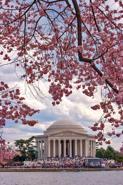 Jefferson Memorial, Washington DC. March 2009