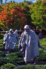 Korean War Veterans Memorial, Washington DC. October 2009