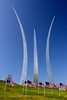 The United States Air Force Memorial, Arlington, Virginia.  October 2006