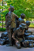 The Vietnam Women's Memorial, Washington DC.  October 2009