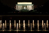World War II Memorial and Lincoln Memorial, Washington DC. October 2009