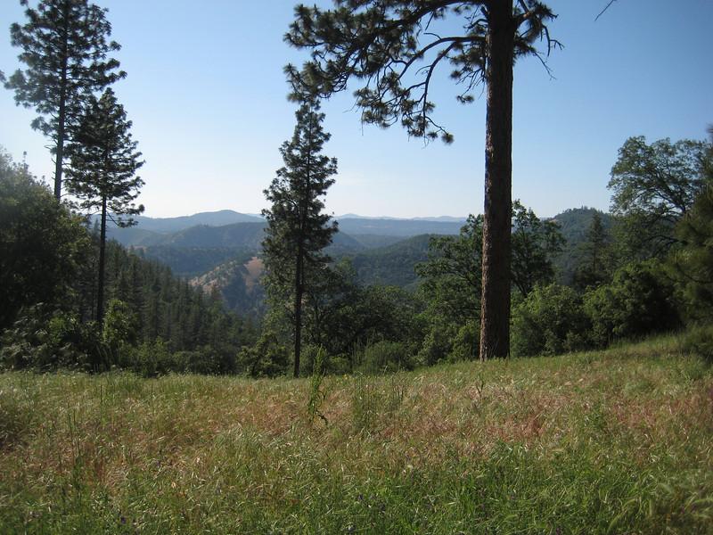 Beautiful views of the Sierras.