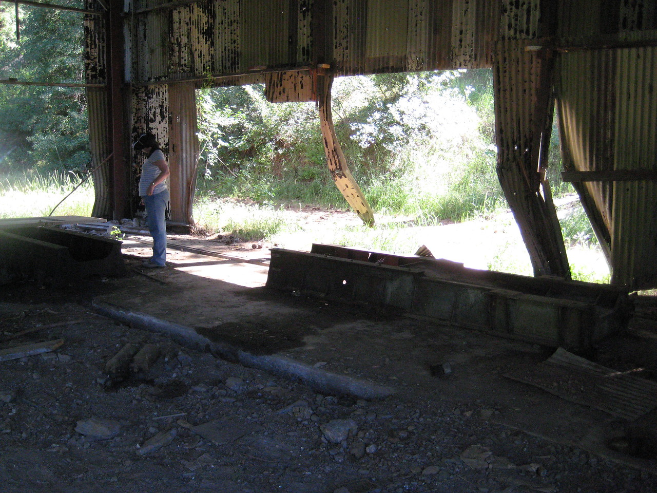 The Buchanan Mine, and whats left.