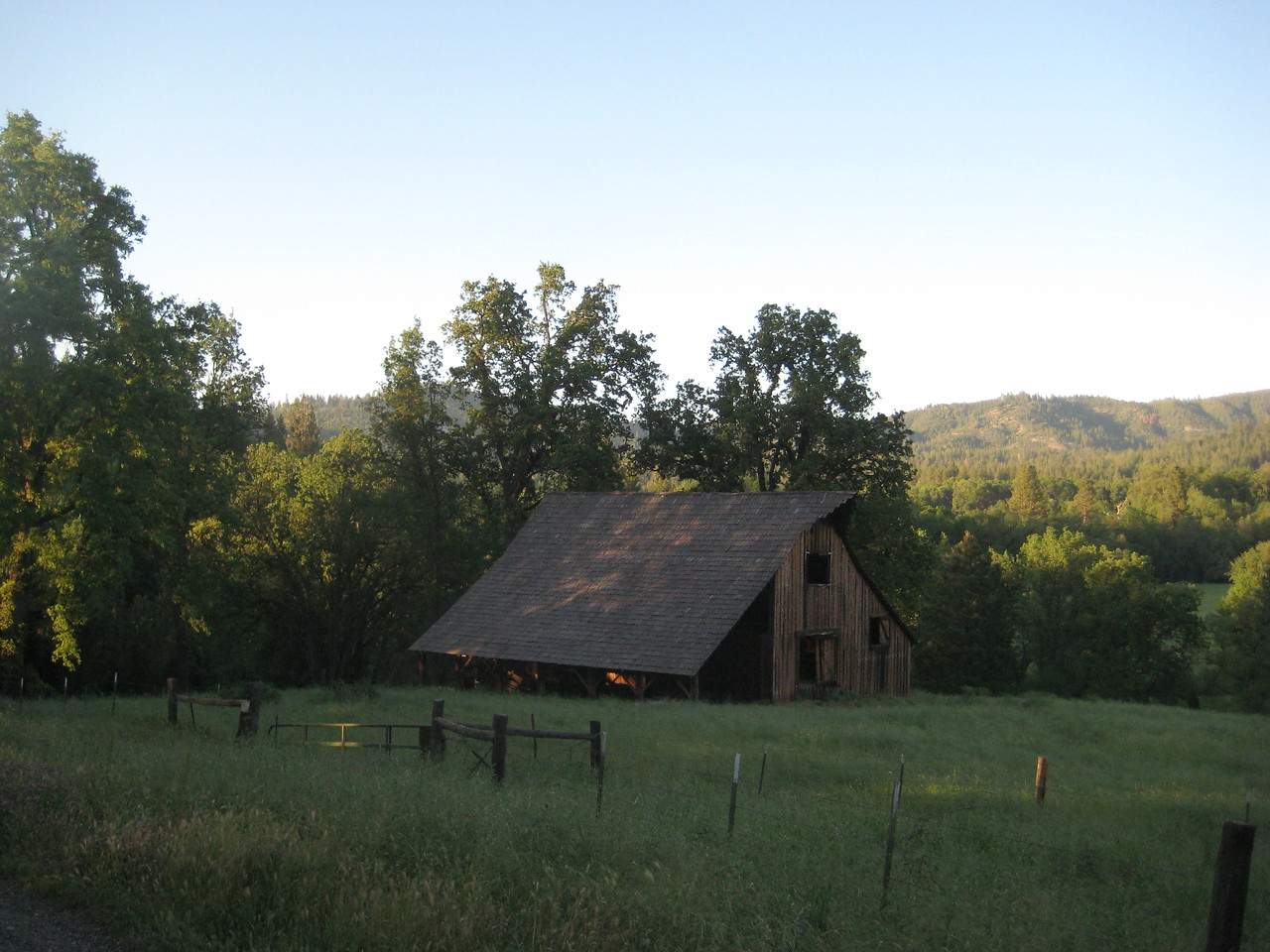 Barn used in Little House on the Prairie.