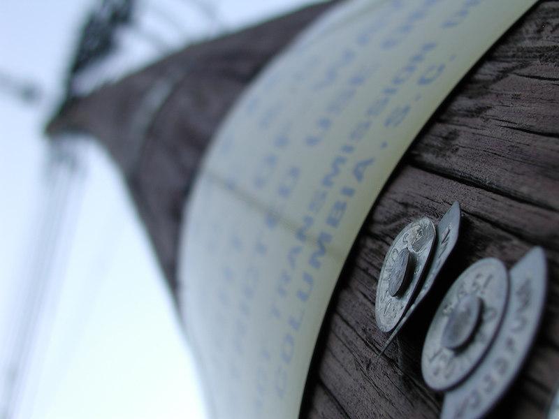 Power pole, North Augusta Greeneway, 6/24