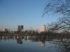 Augusta skyline, from 5th Street Bridge, 3/6/09